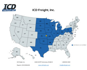 map of icd coverage